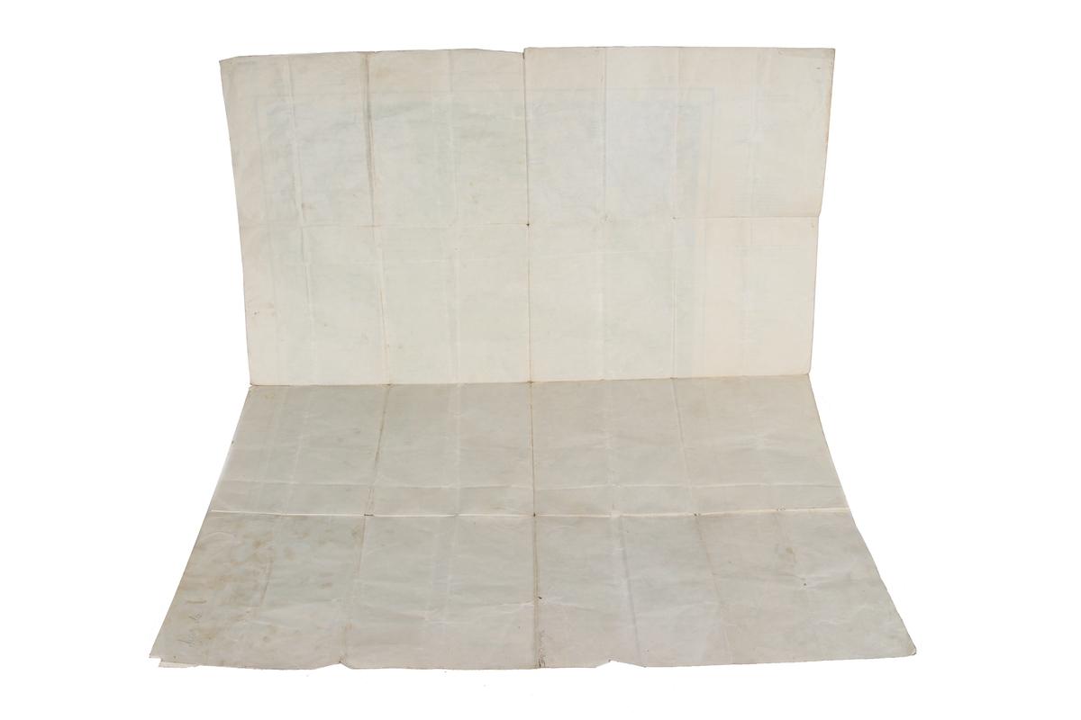 Tyskprodusert kart over Vikedal fra 1943. 1:50000