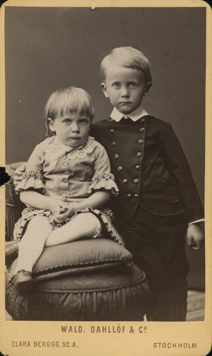 Elsa och C. G. Berg, 1883.
