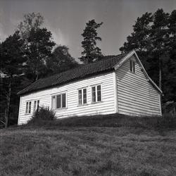 Våningshus i Vikedal. Eksteriør.