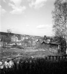 """Rivningsområde på Södermalm, området kallat """"Oredan"""", då kva"""