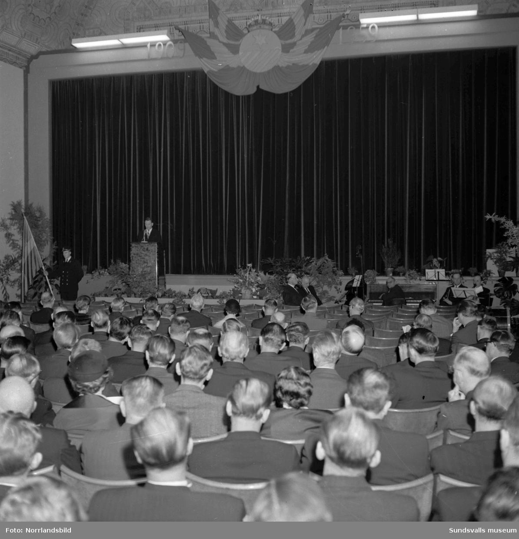 Vattenfall firan 50-årsjubileum på Saga-biografen.