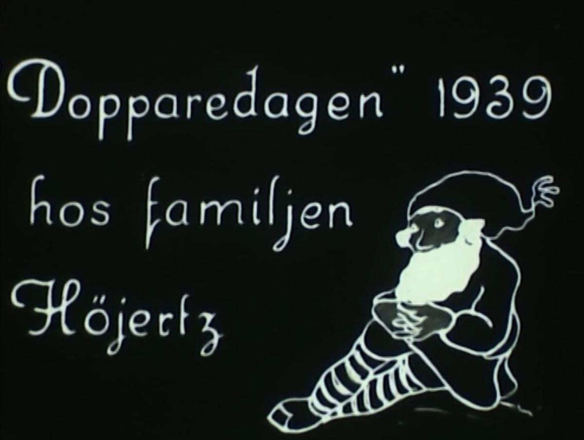 Dopparedagen 1939.
