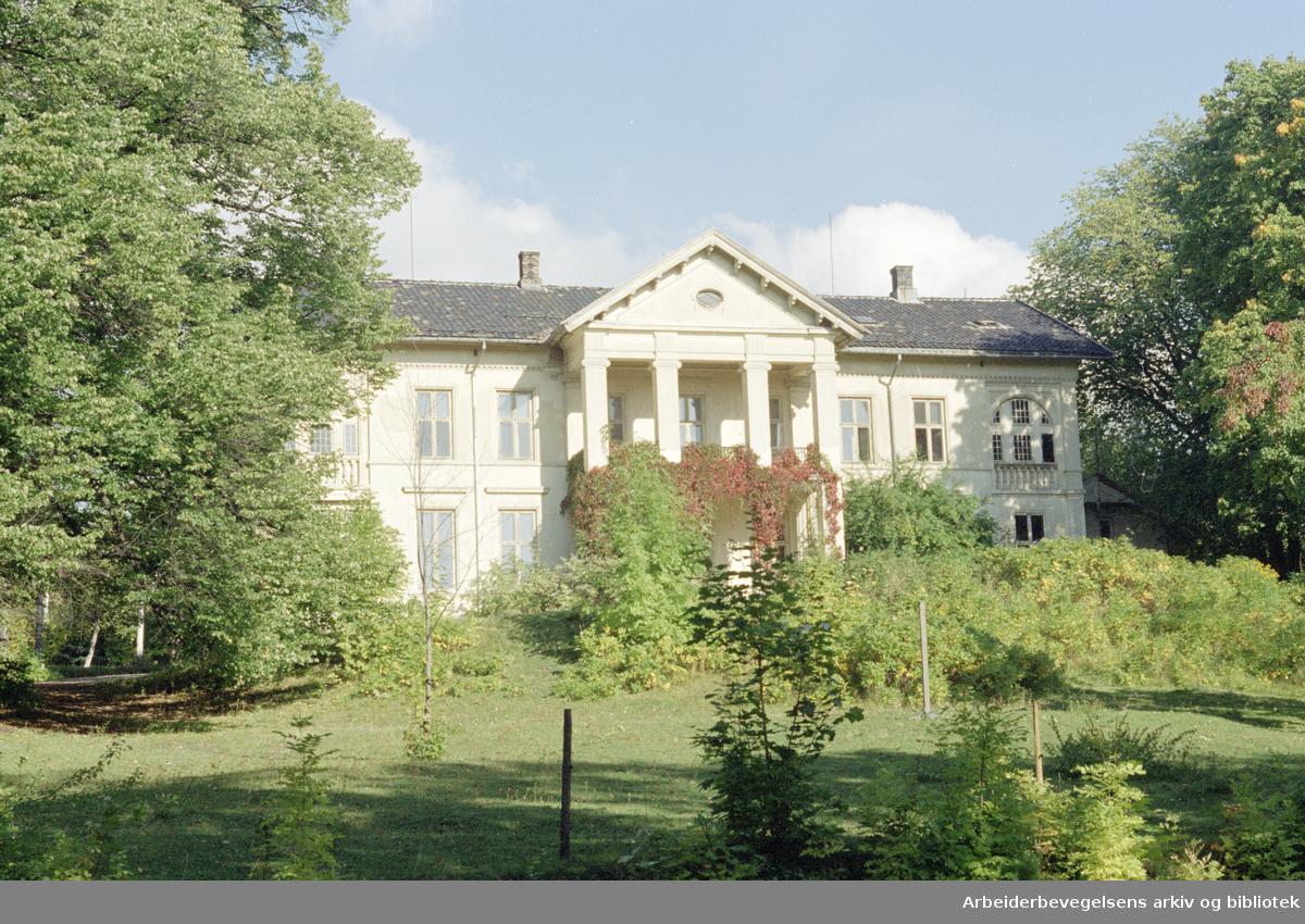 Oslo: Madserud Allé. 24. september 1996