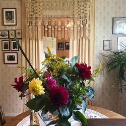 Blomster, Sigurd Hoel, Sagstua Skolemuseum (Foto/Photo)