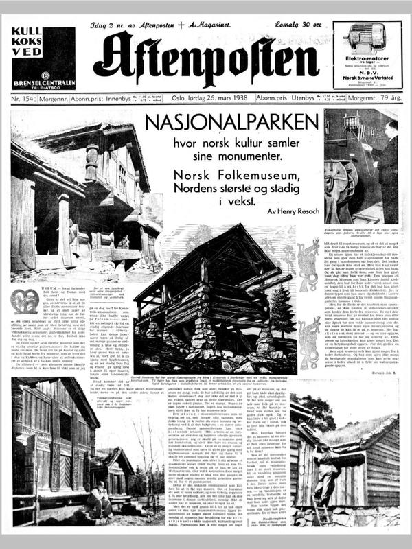 Aftenposten 1938 (Foto/Photo)