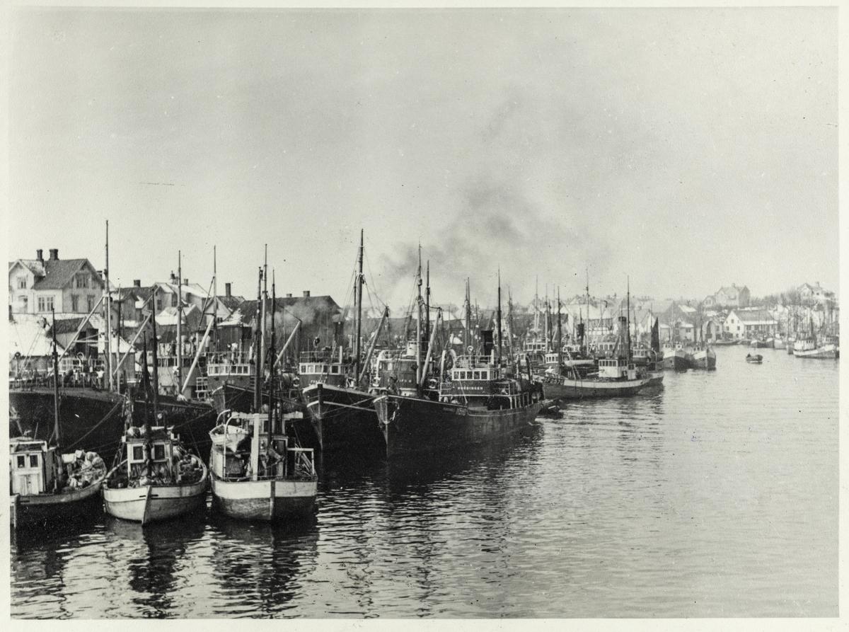 Smedasundet sett mot nord, 1949.