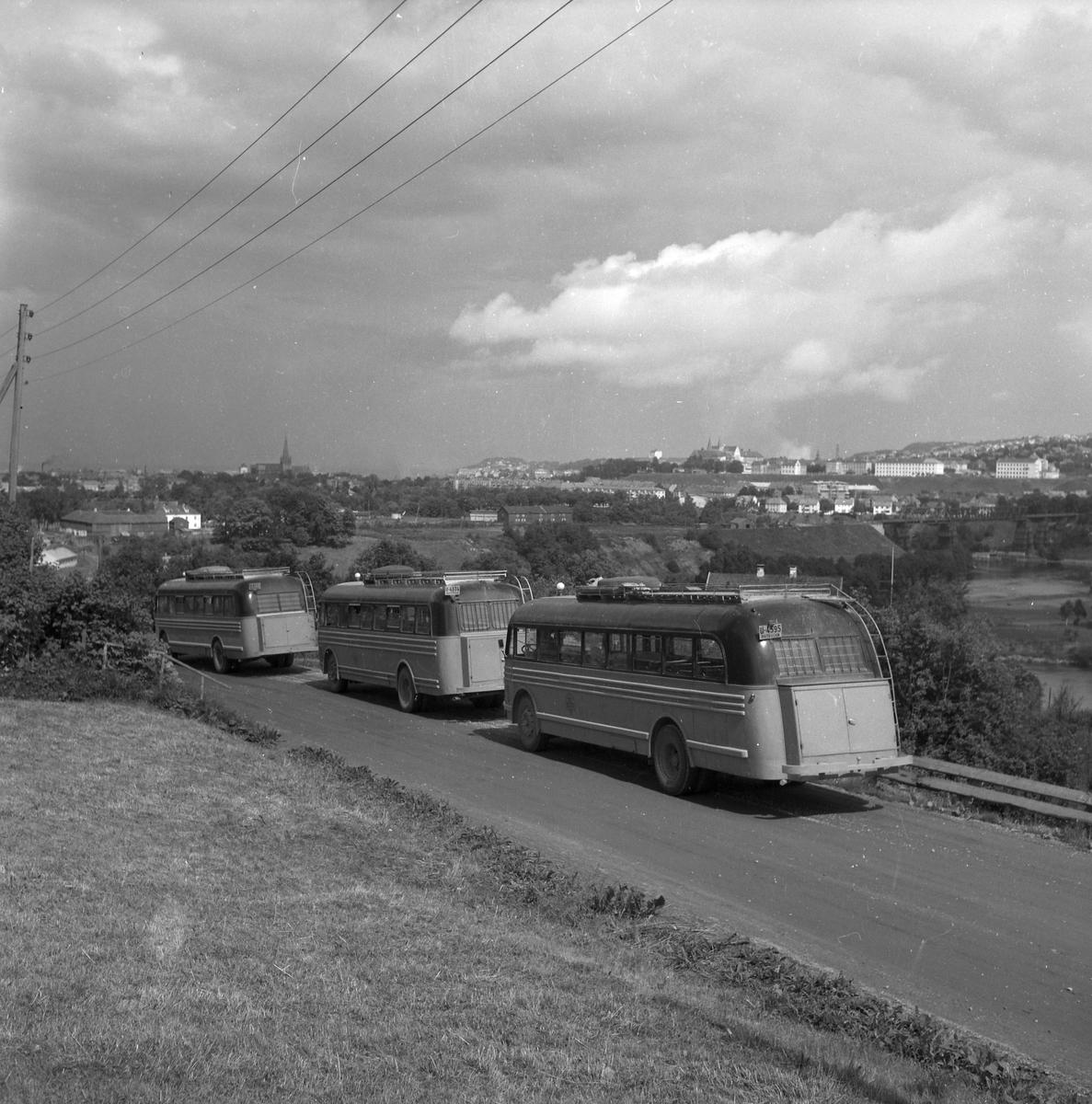 Busser fra Trondheim og Orkladal Billag