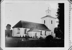Reprofotografi - Östhammars kyrka, Östhammar, Uppland omkrin