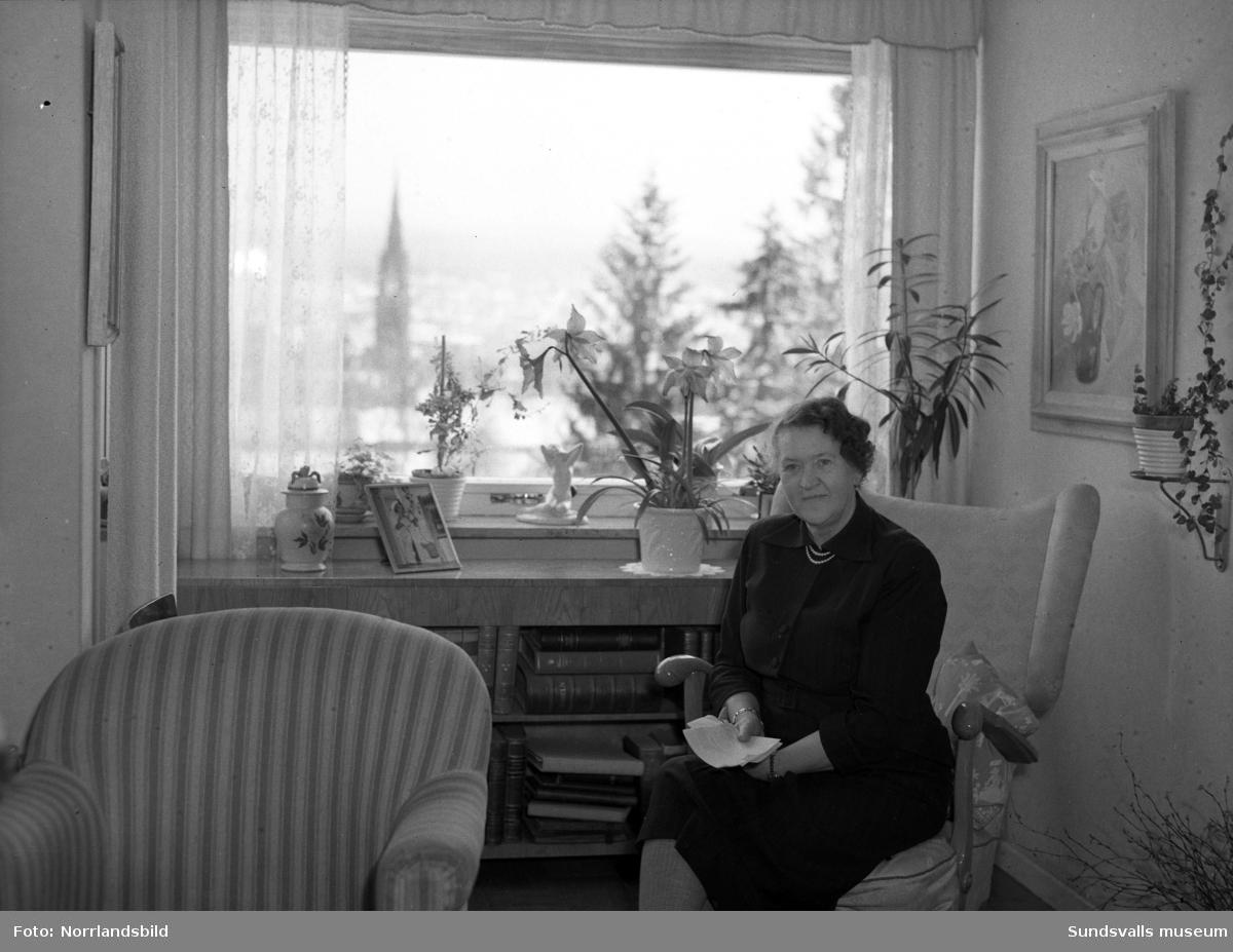 Fru Ida Magnusson, Sundsvall, porträttfoto.