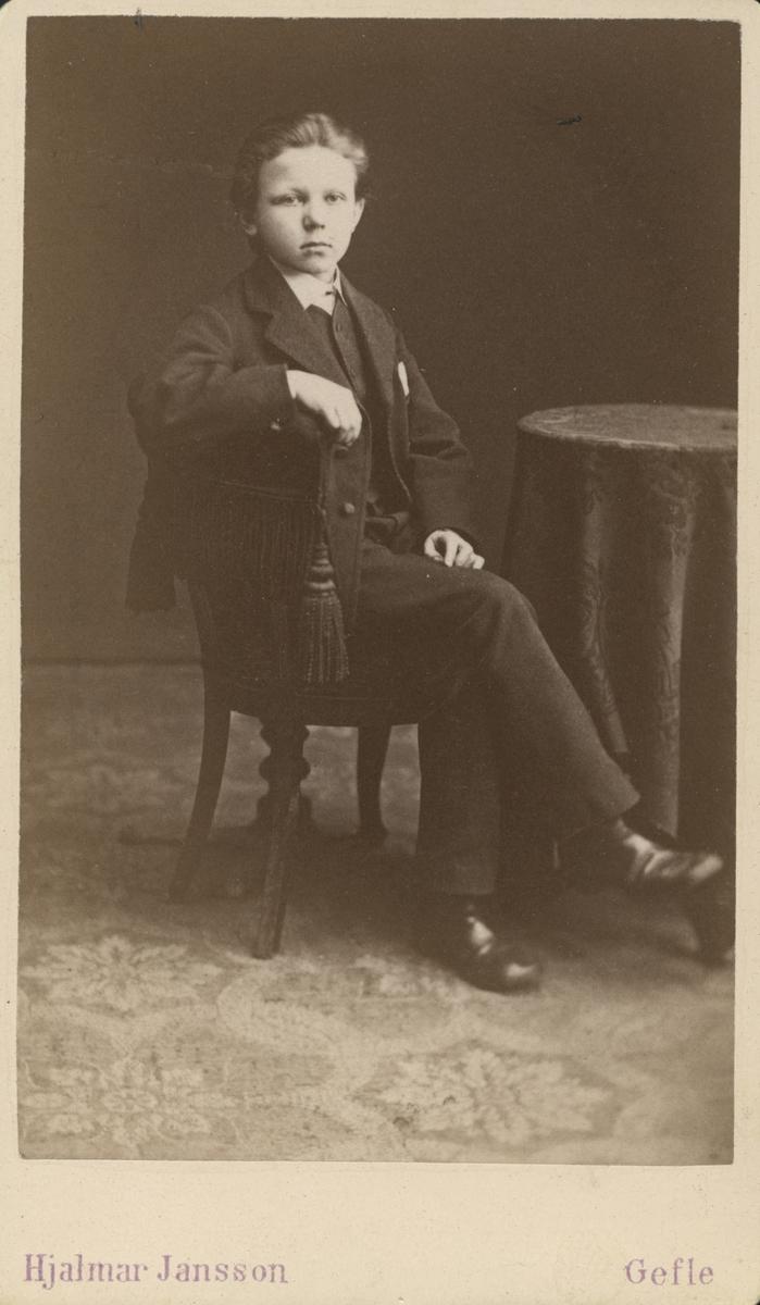 Hjalmar Wallberg, 1880 Gävle.