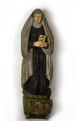Statyn över Margareta Brahe i Brahekyrkan på Visingsö, Jönkö