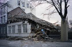 Riving Havnaberg skole. O.a.1165