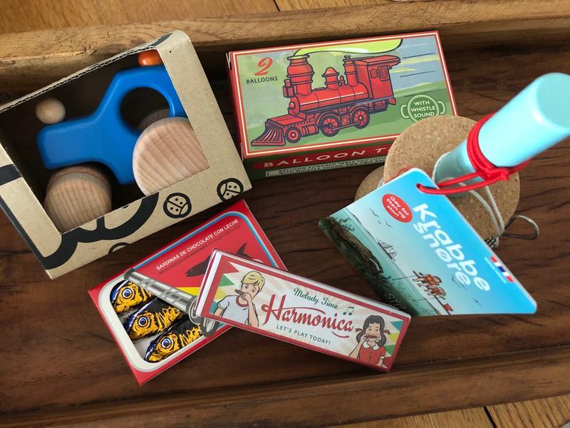 Leker og sjokolade i museumsbutikken (Foto/Photo)