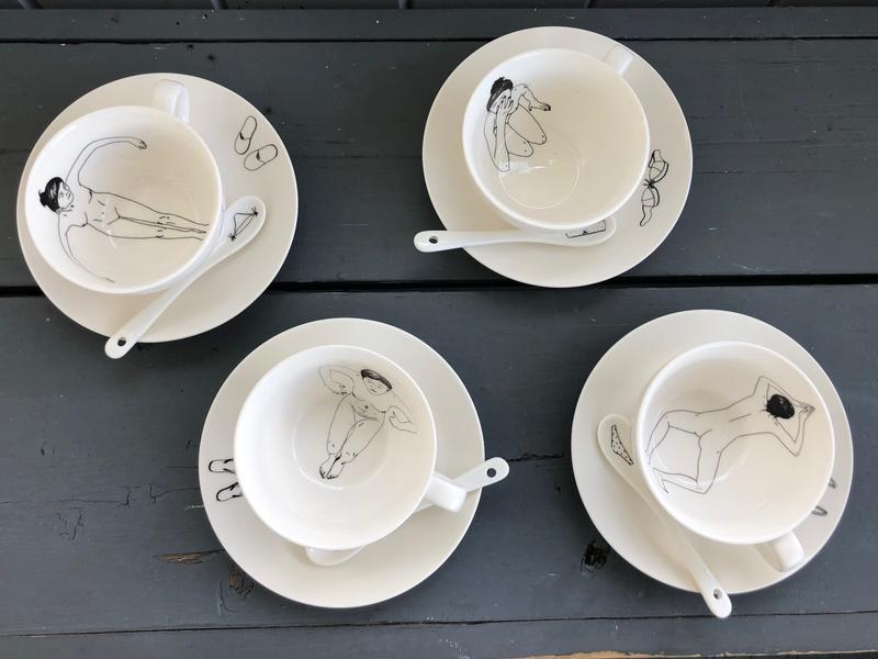 Fire kopper på skål (Foto/Photo)