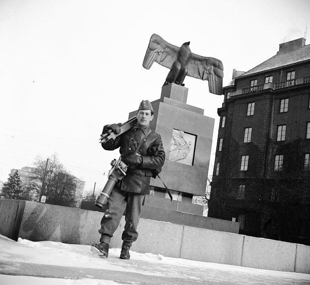 Sandstedt, Erik med kamera.