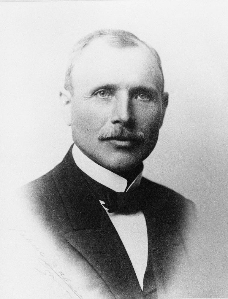 Johannes Helle, prest i Time 1914 - 1923.