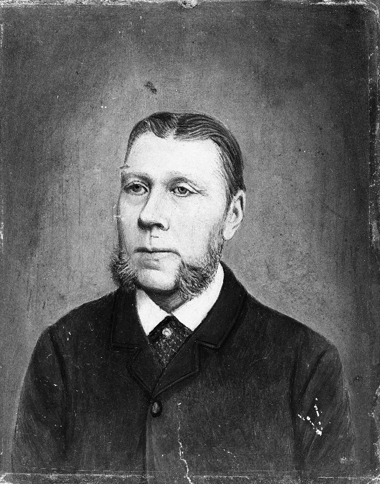 Johannes Helle (27.10.1879 - ). Prest i Time 1914 -1923.  Fotokort for dette manglar. Opplysningar frå Time Gard og Ætt.