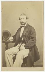 Porträtt av Johan Julius Holm, officer vid Andra livgrenadjä