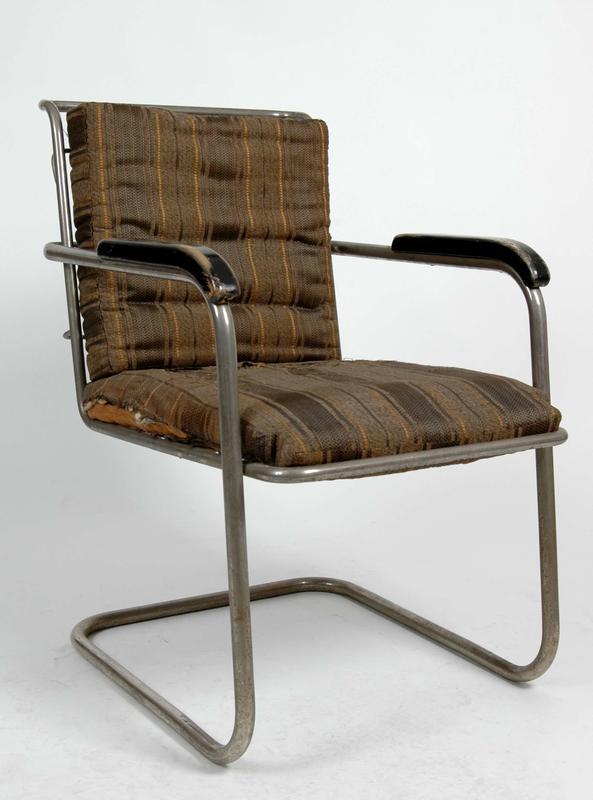 Stålrørsstol, designet av Hermann Munthe-Kaas i 1931. (Foto/Photo)