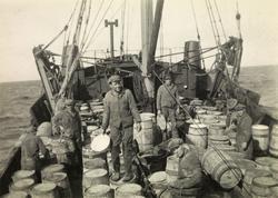 Fiskere på Mørekysten. 1930-tallet.