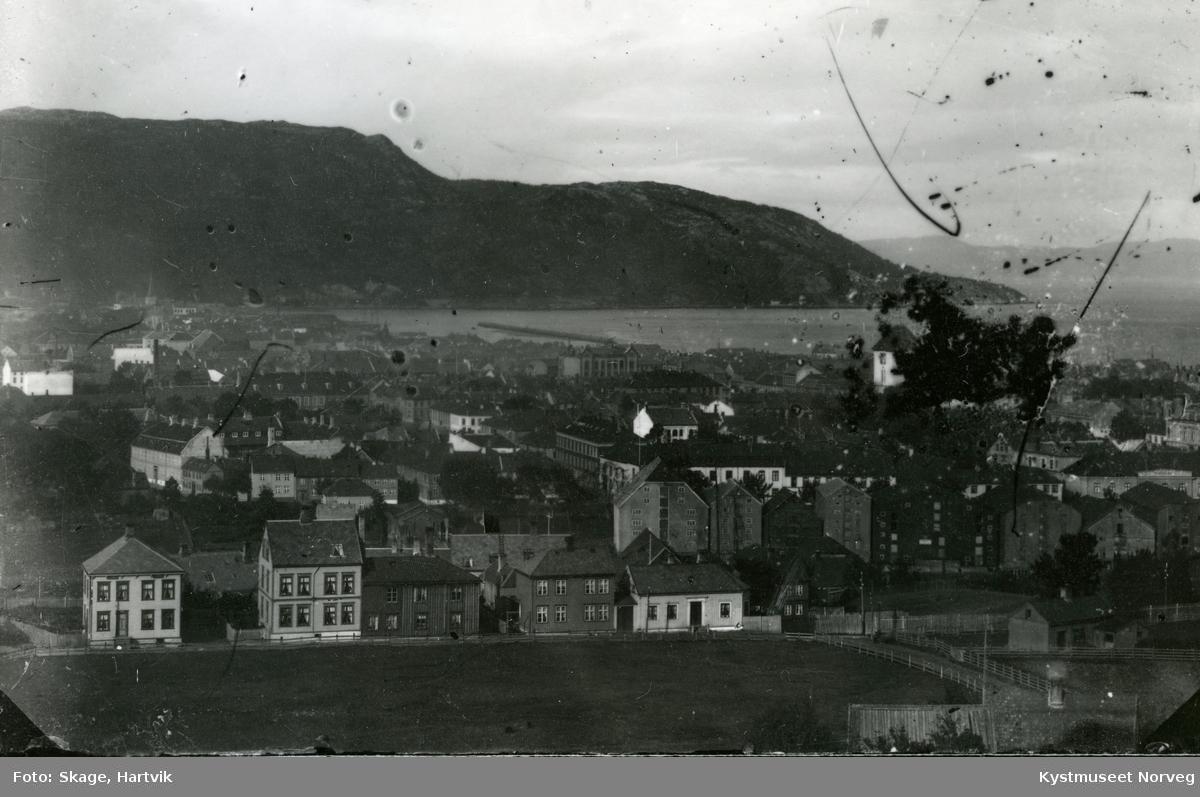 Trondheim sett fra Skansen