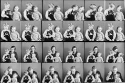 Ateljéporträtt - familjen Frisell från Östhammar, Uppland 19