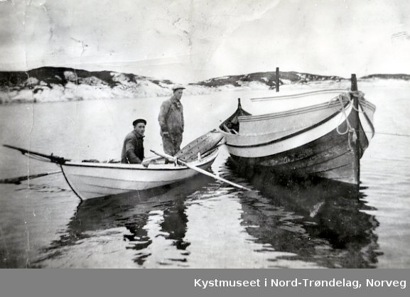 Odd og Gisle Strand på Soløya