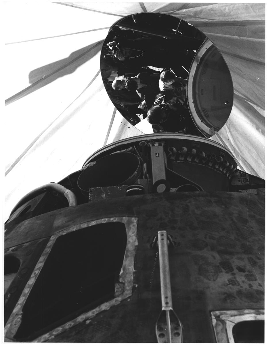 Apollo 10 på Universitetspl. Oslo