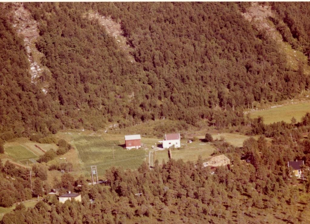Heimstad, Håkvik  Rute 28-29: Familien Taraldsvik bodde der på 1970-tallet (i allefall), og nå er det Frode Sjølander som har gården. Nå er det 4 H-gård der.