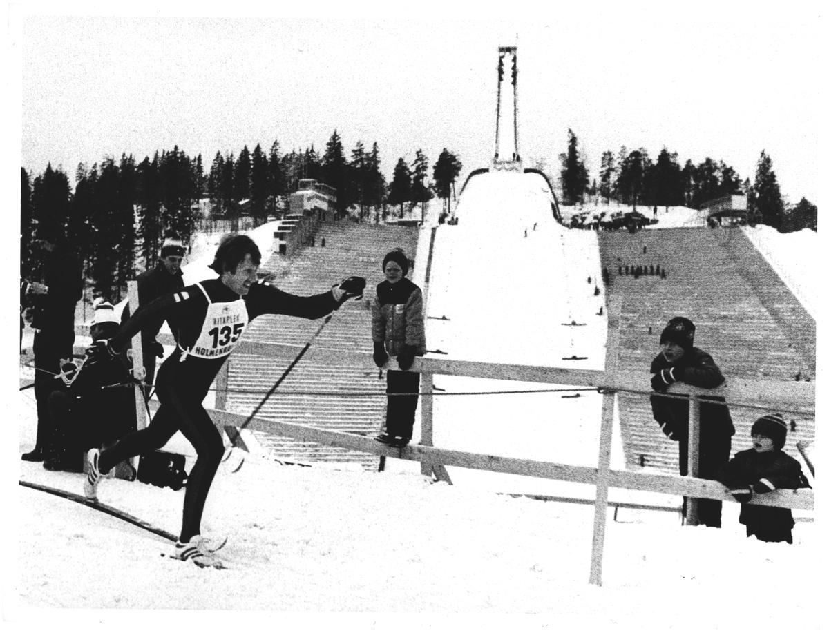 """""""Kollen"""". 15 km. Vinneren Oddvar Brå"""