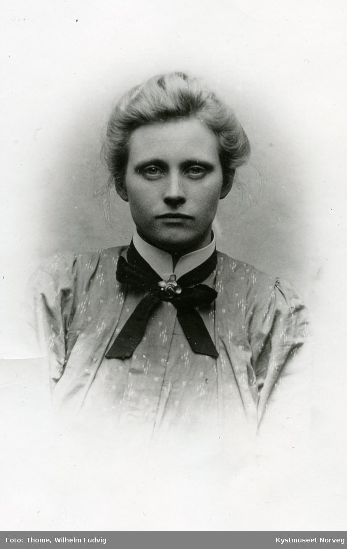 Ukjent ung kvinne