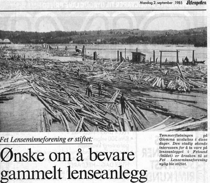 Faksimile, Aftenposten. (Foto/Photo)