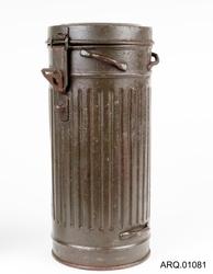 Gassmaske-beholder