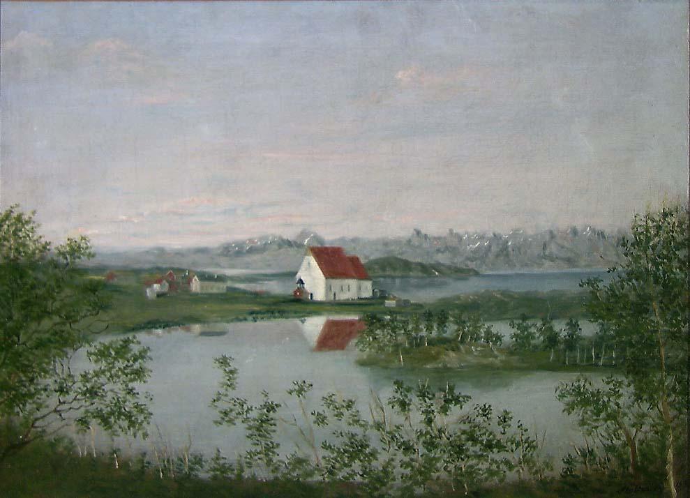 Trondenes kirke [Maleri]