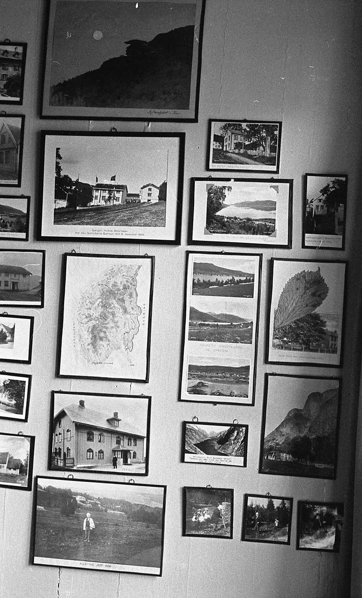 DOK:1971,Aulestad, interiør, monterværelse, fotografier,