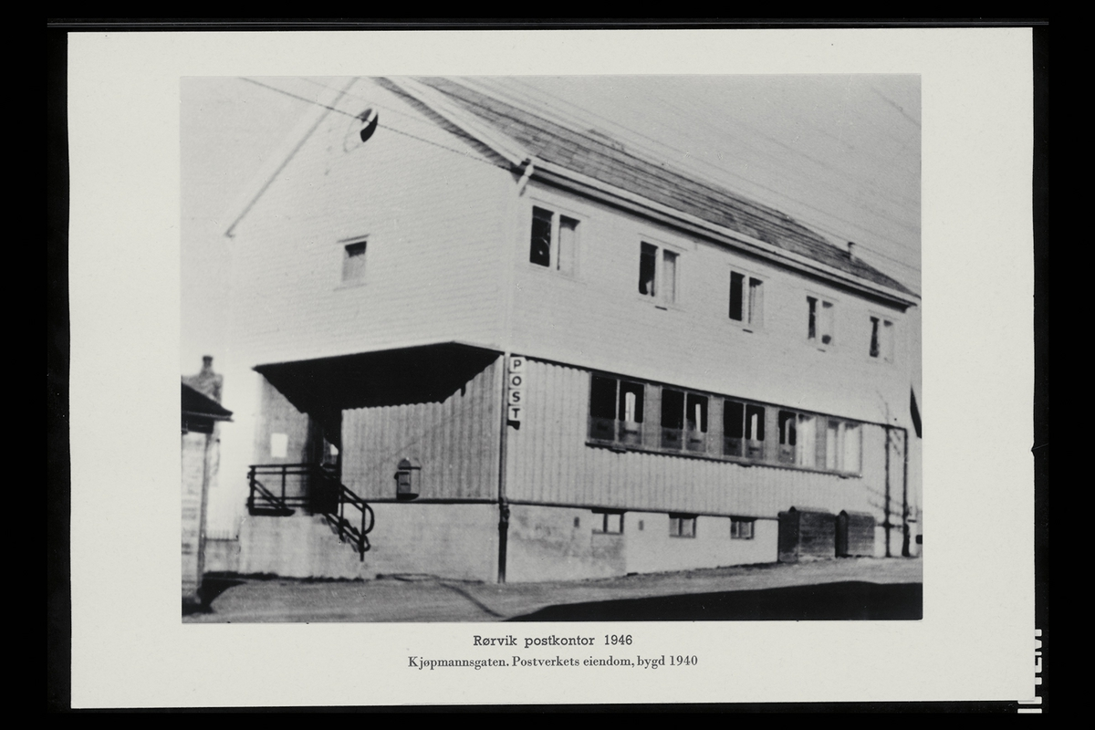 eksteriør, postkontor, 7900 Rørvik, postkasse