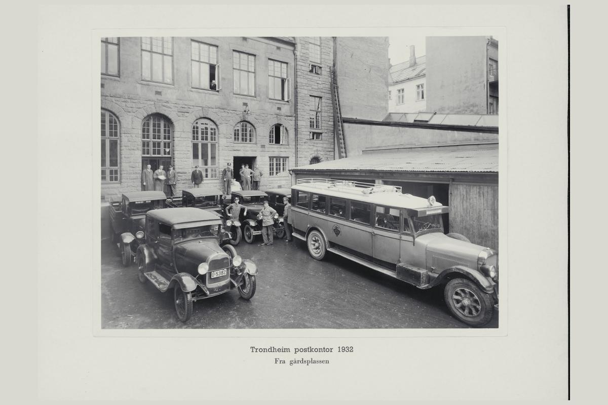 eksteriør, postkontor, 7007 Trondheim, biler, personale