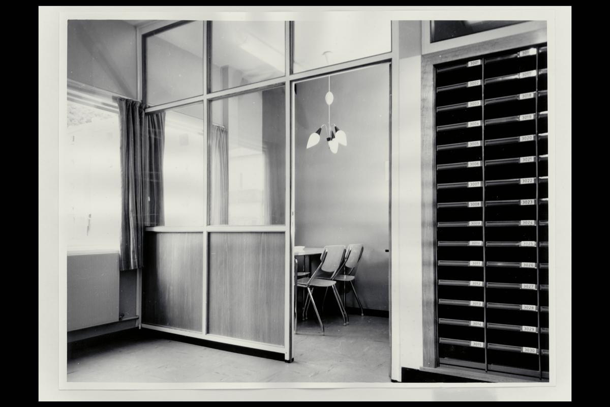interiør, postkontor, 5030 Bergen - Landås, spiserom