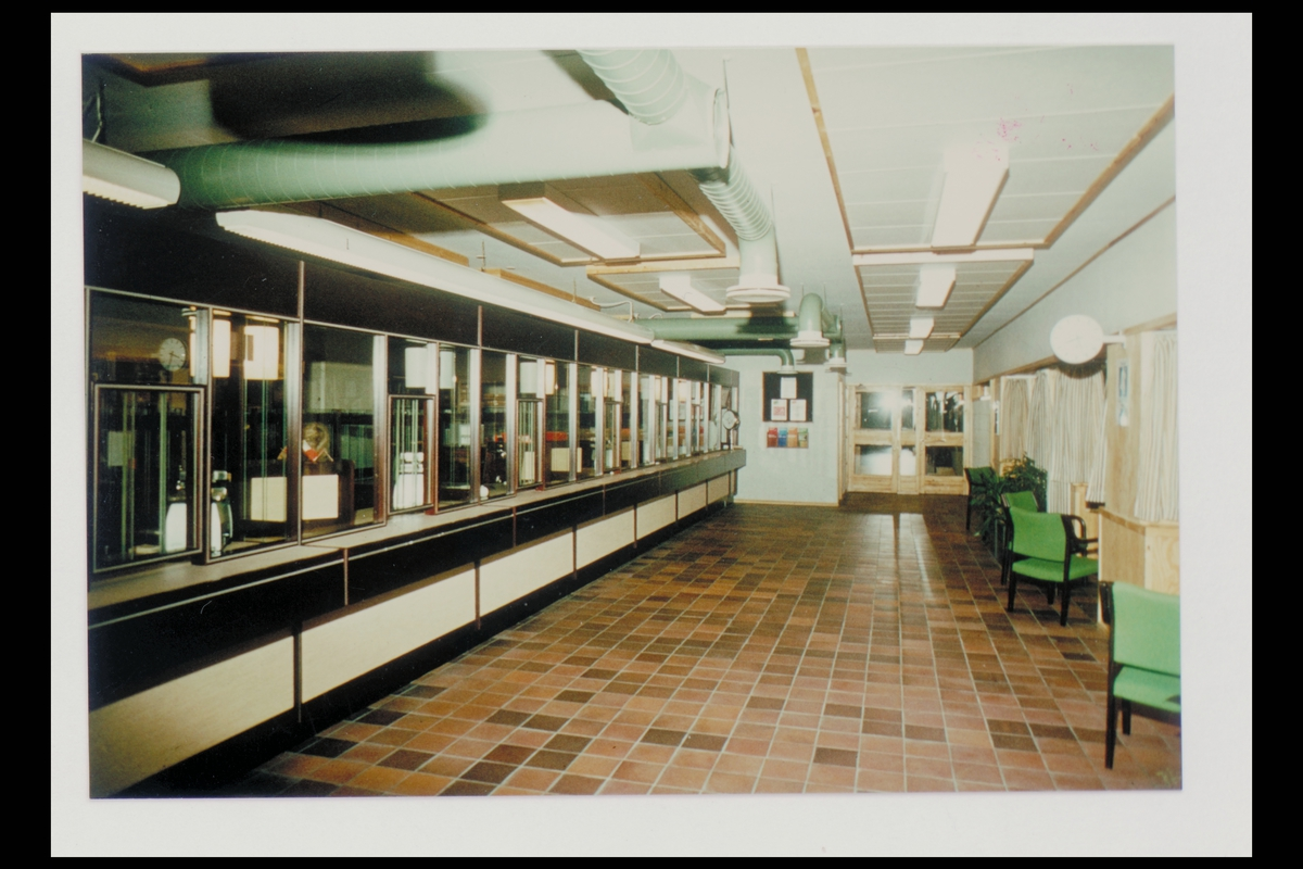 interiør, postkontor, 4890 Grimstad, publikumshall