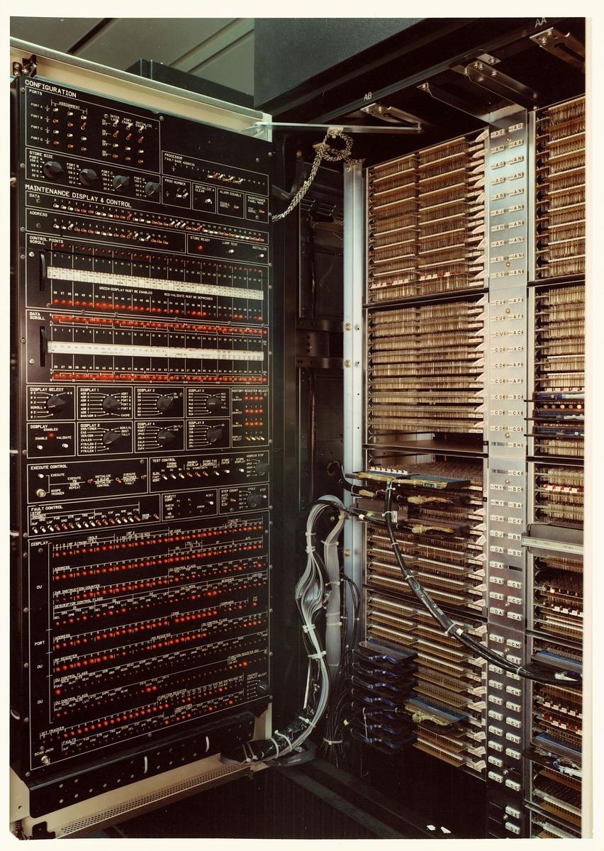 interiør, Datasentralen Biskop Guneriusgate 14 7.etg Oslo, maskiner