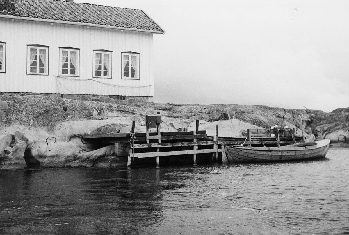 transport, båt, Kragerø, brygge, postkasser