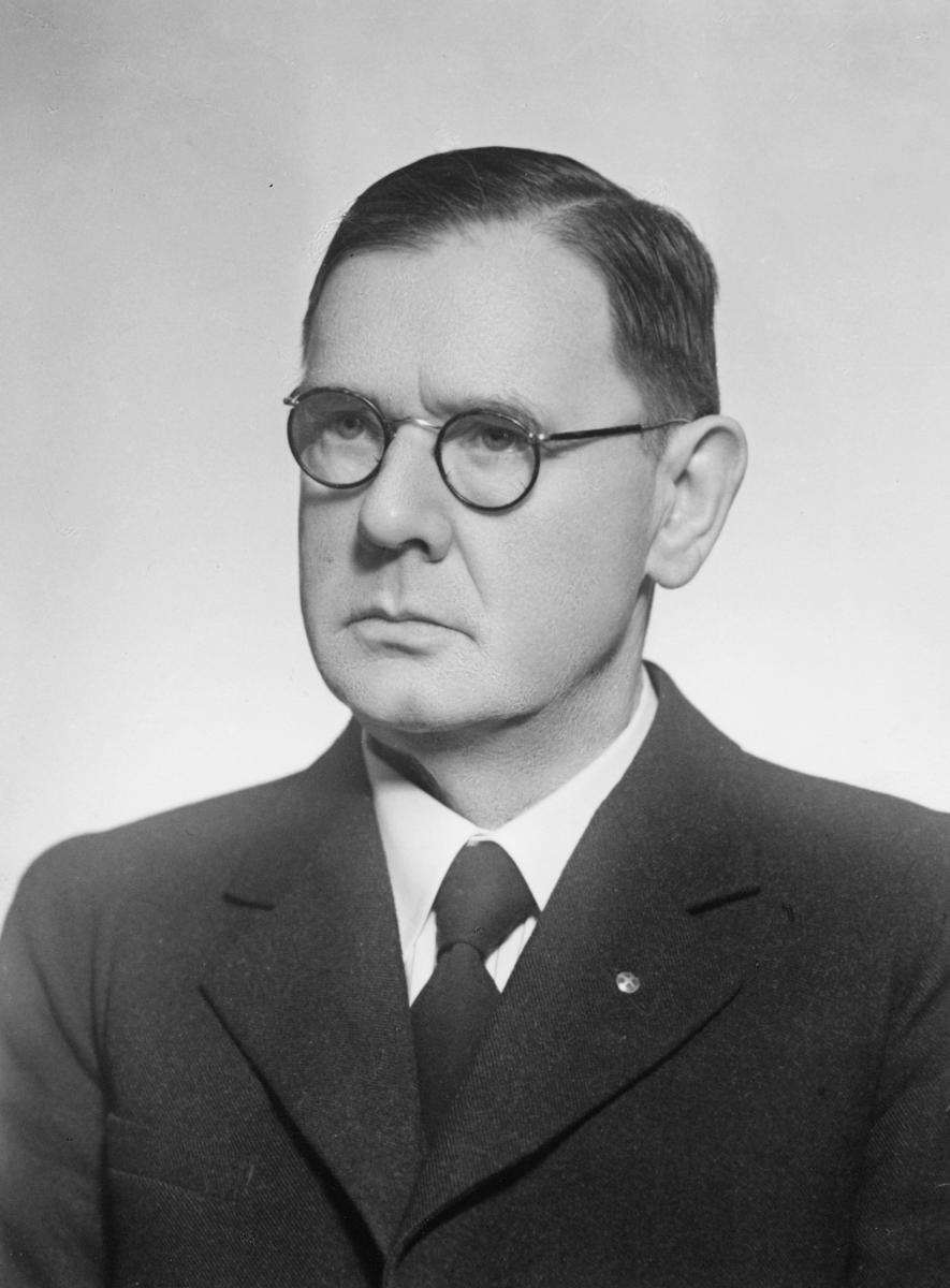 portrett, postmester, midlertidig, Carl Johan Luther Huss Dahl