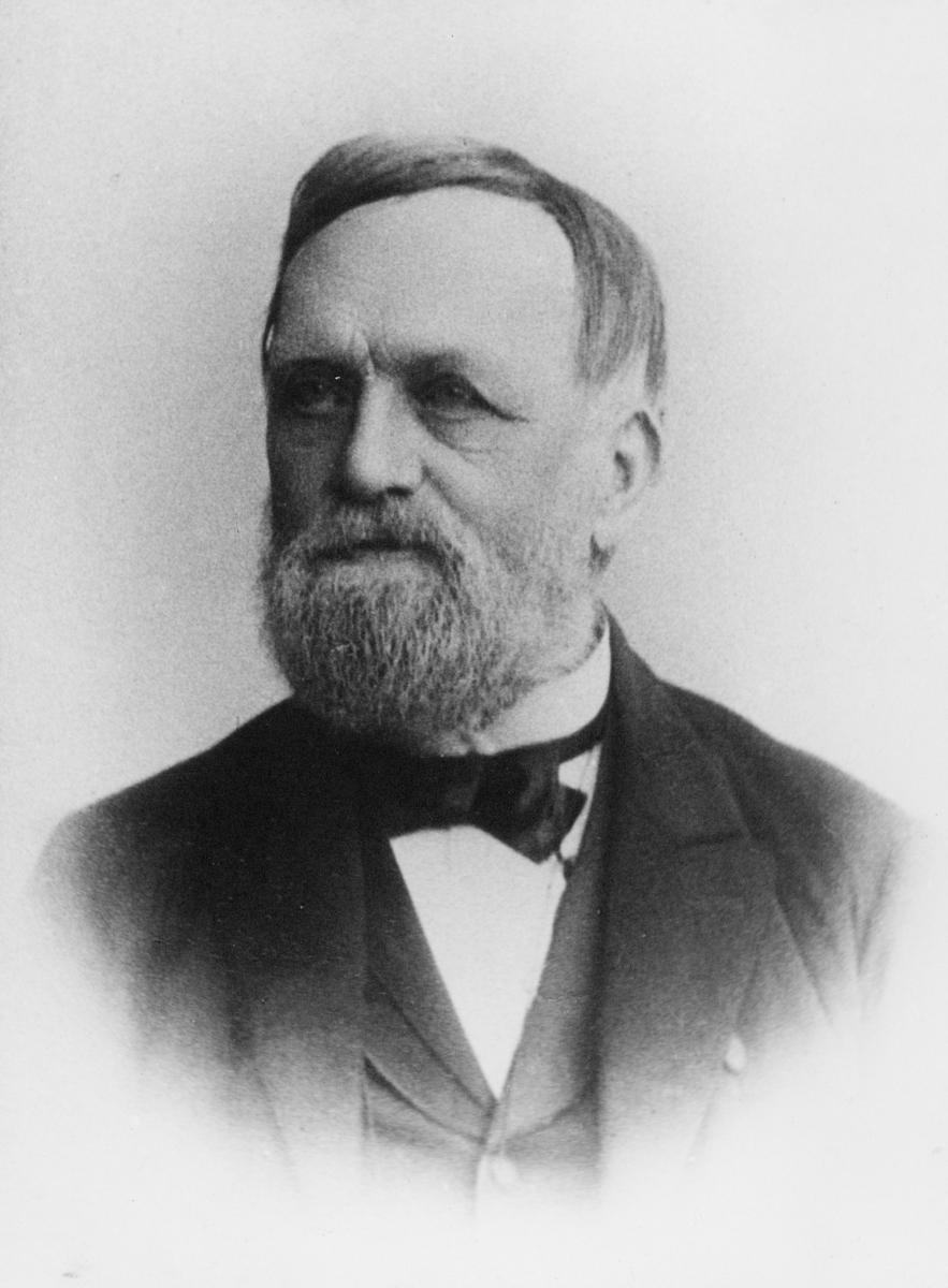 portrett, byråsjef, Wilhelm Theodor Alexander Lassen