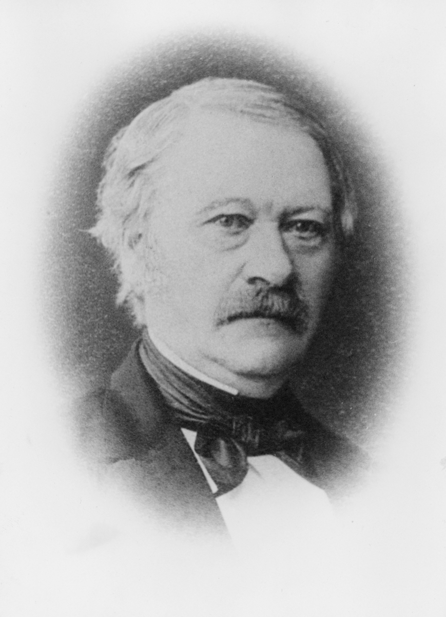 portrett, postmester, Nils Johan Nilsen
