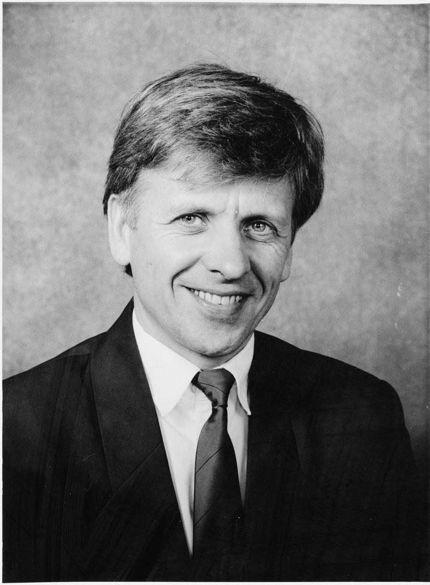 postmester, Søvik Knut Normann, portrett