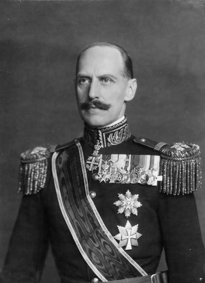 portrett, Kong Haakon 7