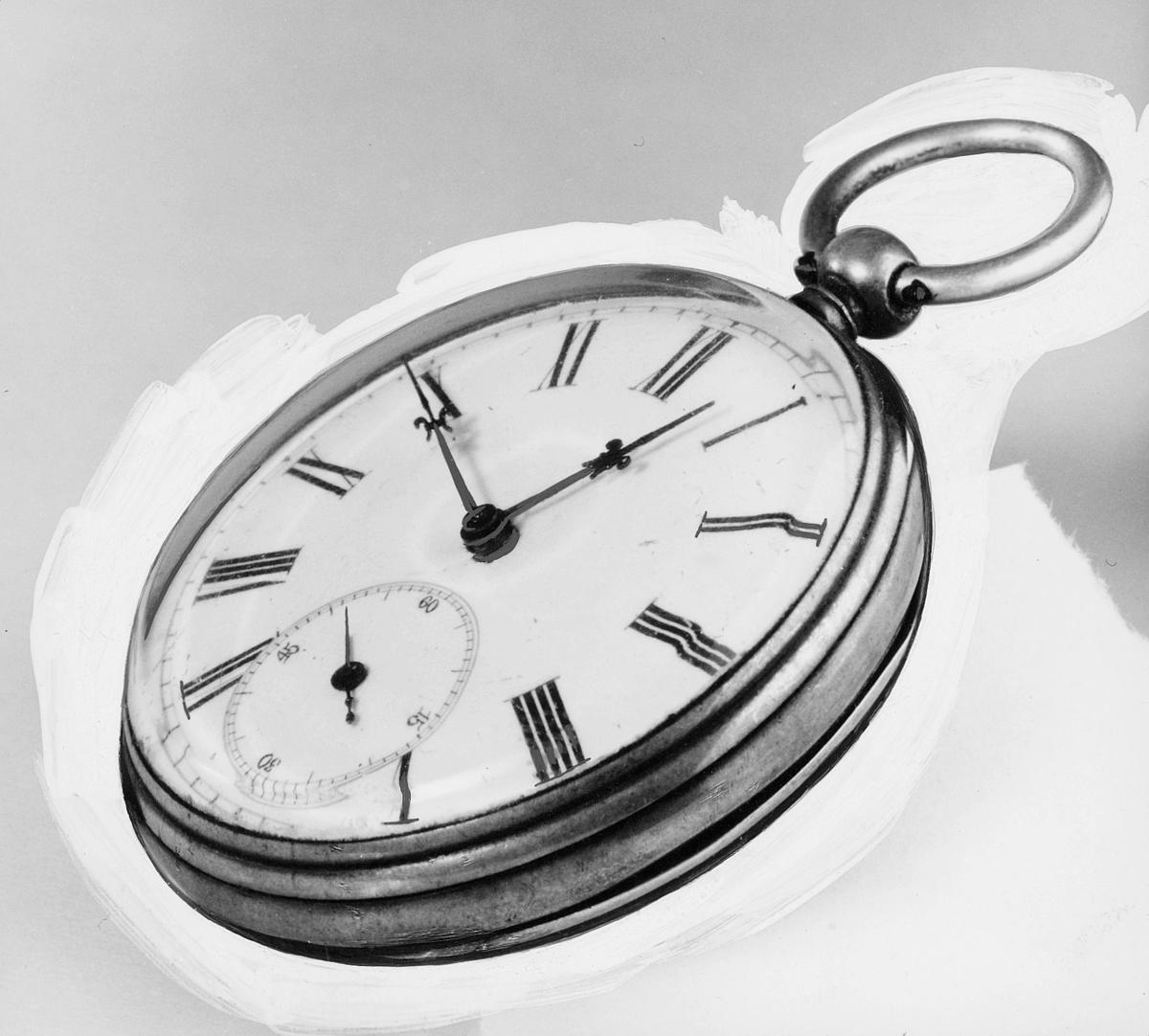 postmuseet, gjenstander, klokke, postførerur