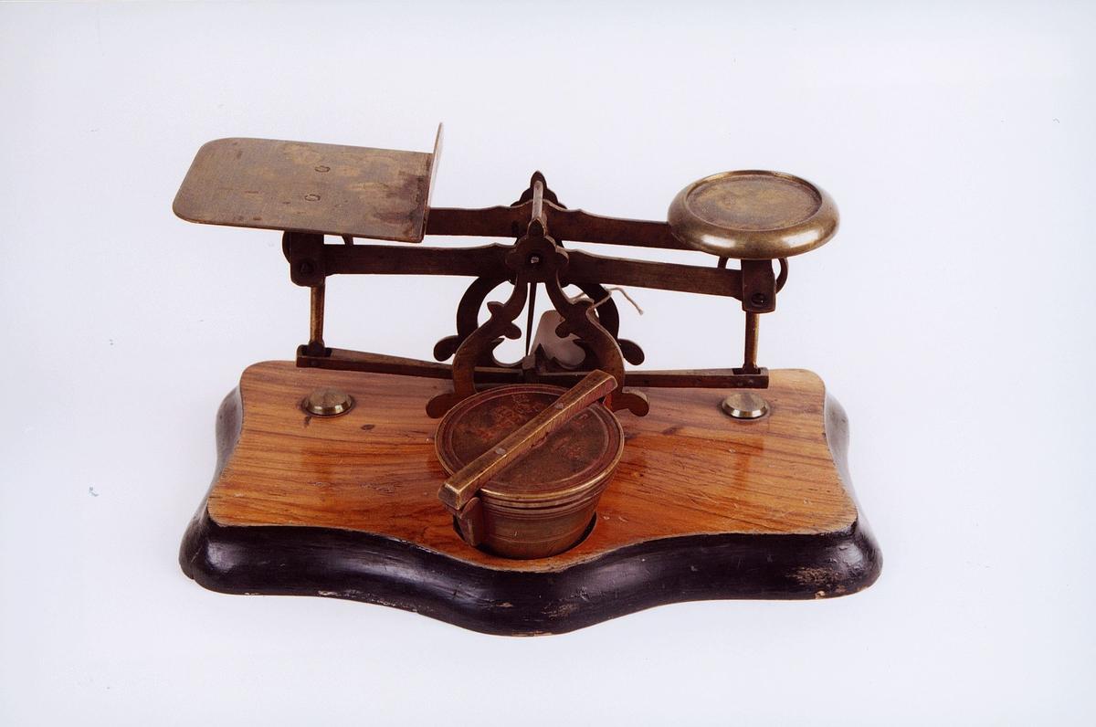 postmuseet, gjenstander, vekt, brevvekt