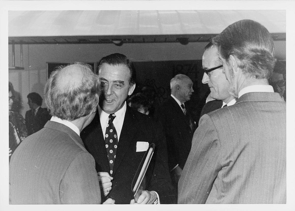 markedsseksjonen, verdenspostforeningen 100 år, Albert Nordengen, Ragnvald Rustung Bru