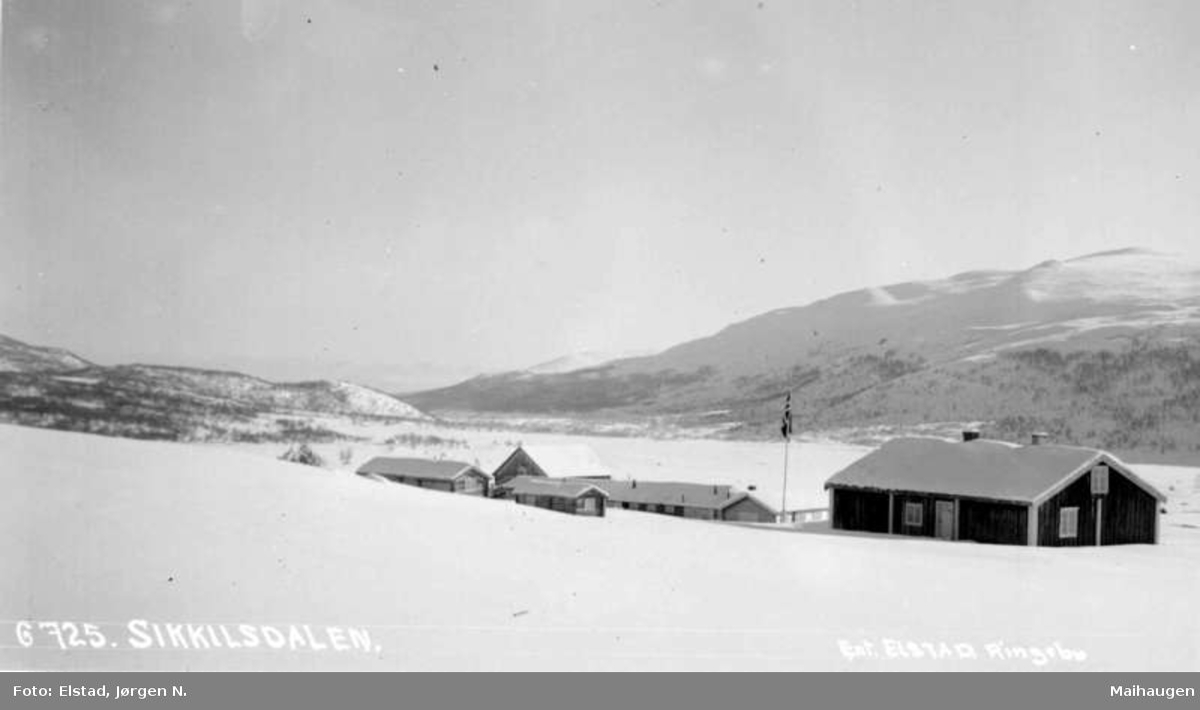 Nord-Fron. Sikkilsdalseter. Sikkilsdalen. Skåbu.
